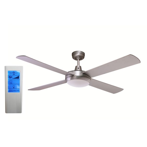 Ceiling Fan With Led Light And Remote