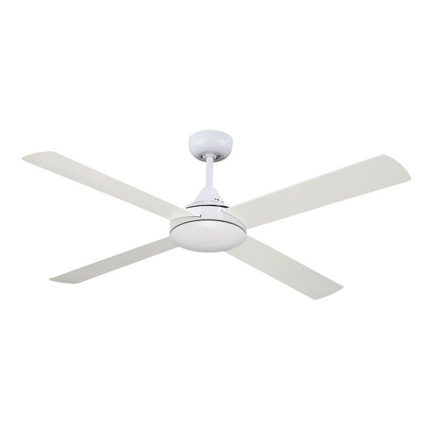 Fias revolve 48 inch ceiling fan white ceiling fans and leds fias revolve 48 inch ceiling fan white aloadofball Images