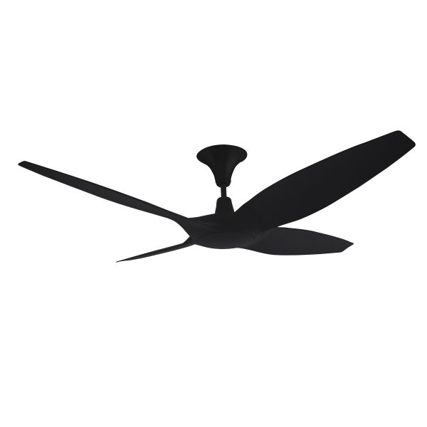 Designer 4 blade 60 inch 1524mm dc ceiling fan with remote designer 60 inch dc ceiling fan in black aloadofball Images