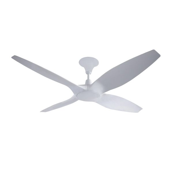 Designer 4 blade 60 inch 1524mm dc ceiling fan with remote designer 60 inch dc ceiling fan in white dc ceiling fan remote aloadofball Images