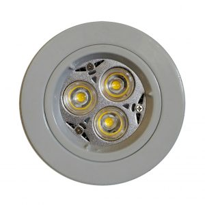 GU10 LED Downlight Kit 70mm white