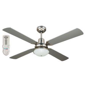 Ramo 48'' Fan Light Remote Silver - RAMO48SIL