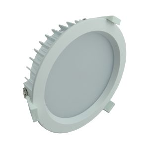 LED Round 300mm Shop Light 35w Dimm Pure White - LEDSHP35WPW300MM