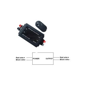 Key Chain Remote Control Single Color Dimmer - RCDIMMKEYCHN